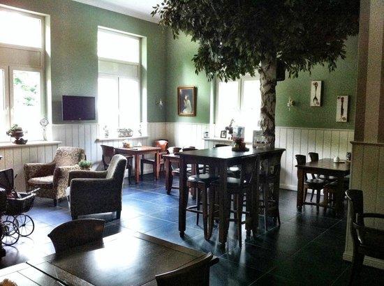 Pension Groote Engel: Breakfast area