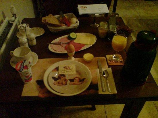 Pension Groote Engel: Breakfast