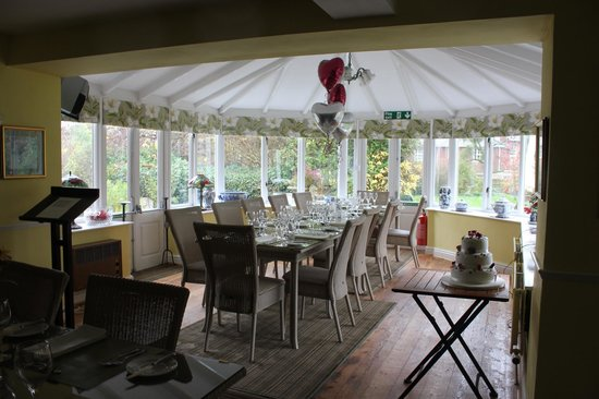 Wilton Court Restaurant with Rooms: Our Wedding table