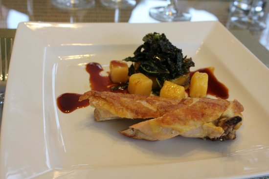 Wilton Court Hotel: Amazing Chicken