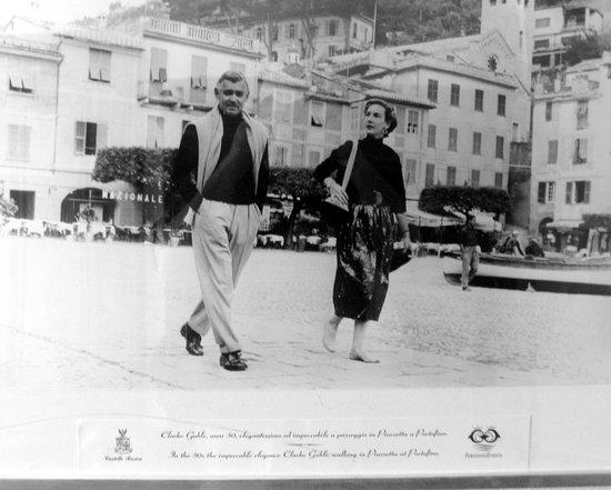 Portofino, Italia: Castle Photo of Clark Gable & wife