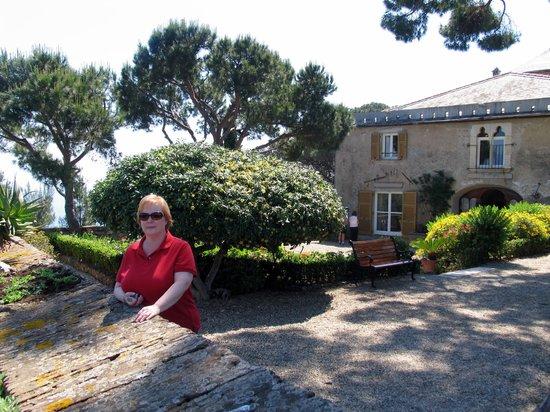 Castello Brown: View of castle terrace