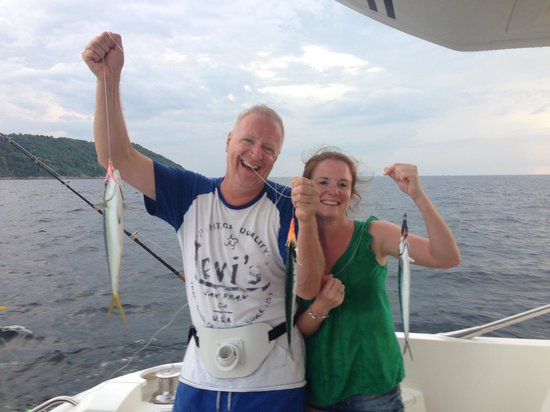 DaVinci Yacht Charter-Day Tours: Fishing