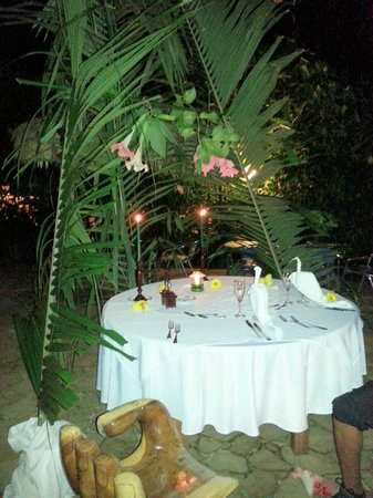 Cariblue Beach & Jungle Resort: La Cena
