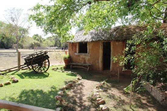 Pousada Rio Claro: Das alte Cottage am Rio Claro