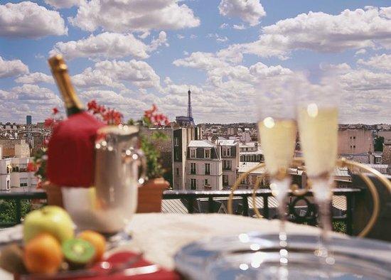 Hotel de Banville : Balcon de Marie