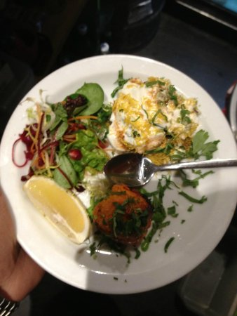Guglee West Hampstead: yum aloo chat and chicken tikka