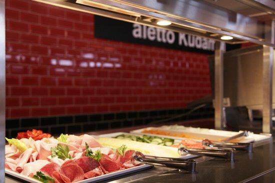 aletto Hotel Kudamm: Frühstücksbuffet