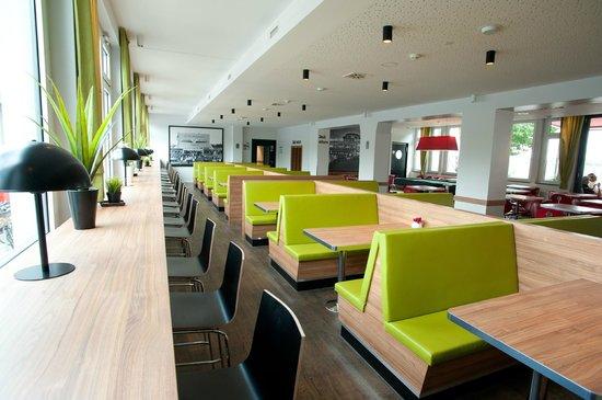aletto Hotel Kudamm: Loungebereich mit Dinerbänke