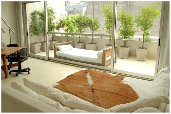 cE Hotel de Diseño: Balcon del Balcony Loft