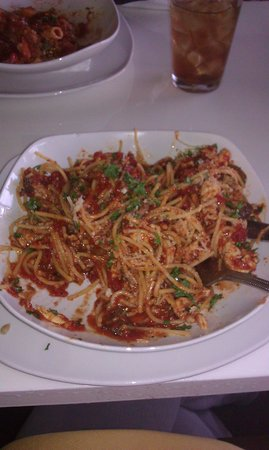 Sapori Italian and Latin Cuisine: Delicious Country Style Spaghetti