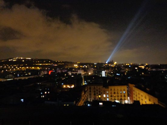Barcelo Raval: view from the roof top terrace
