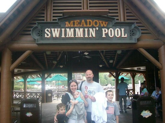 The Campsites at Disney's Fort Wilderness Resort: At the pool