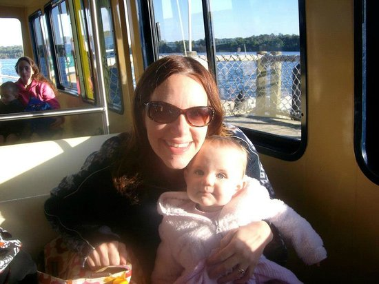 The Campsites at Disney's Fort Wilderness Resort: On the boat to the Magic Kingdom
