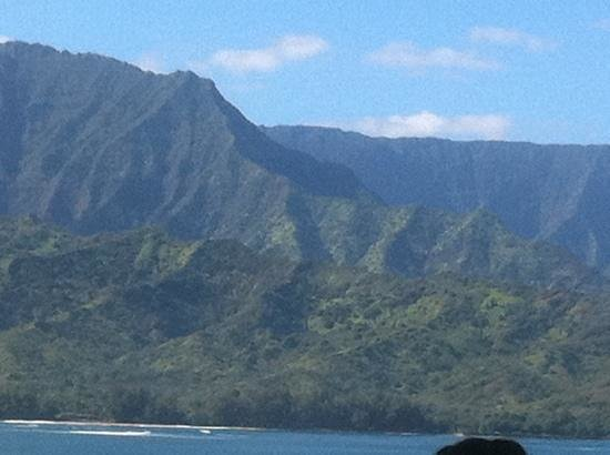 St. Regis Princeville Resort: a view from Makana Terrace