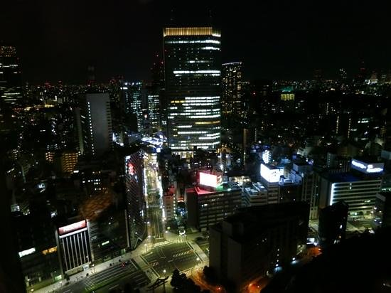 The Capitol Hotel Tokyu: Night view from room 2916 - club room
