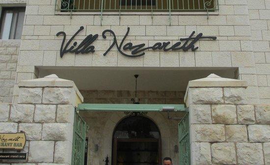 Villa Nazareth Hotel: Hotel Main Entrance
