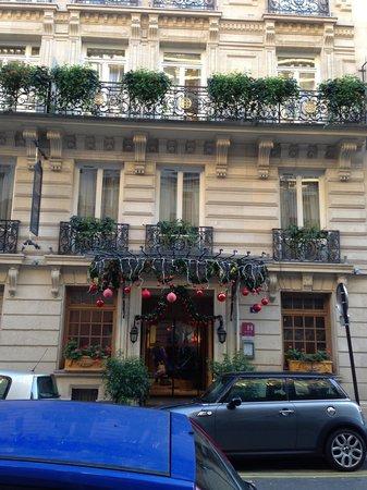 Chambiges Elysees Hotel: Façade de l'hôtel