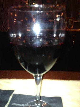 Fletcher's: A glass of Sangiovese
