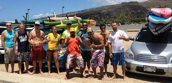 Blue Planet Surf: Our Molokai to Oahu bootcamp class
