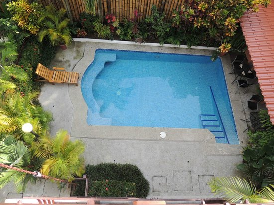 Hotel Inn on the Park: La piscina desde arriba
