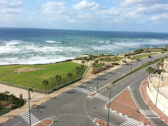 Ramada Netanya: stunning view from room