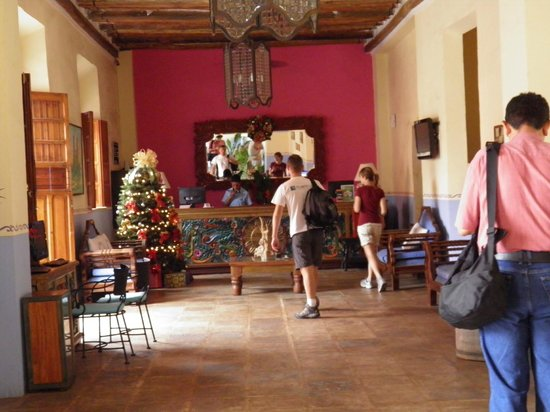 El Meson del Marques: The reception area