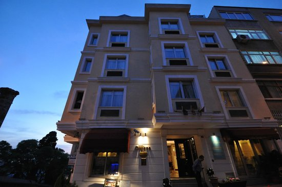 Daphne Hotel, Sultanahmet, Istanbul, May 2012