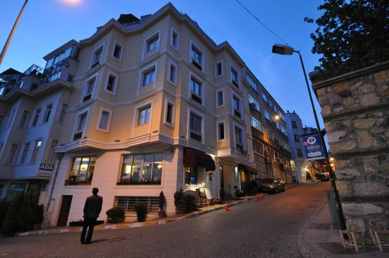Daphne Hotel Sultanahmet Istanbul May 2017