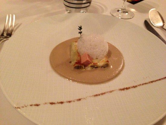 L'Epuisette: Cannelloni d'artichaut au foie gras
