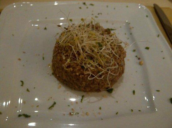 Ristorante Vegetariano Arcobaleno : Quinoa con germgogli!!!!