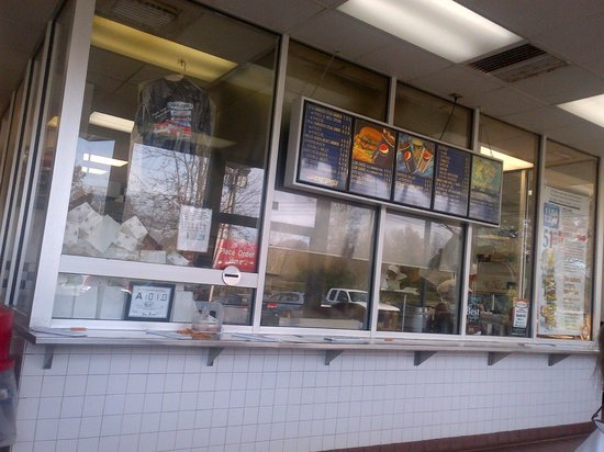 Char-Grill: The Ordering window......