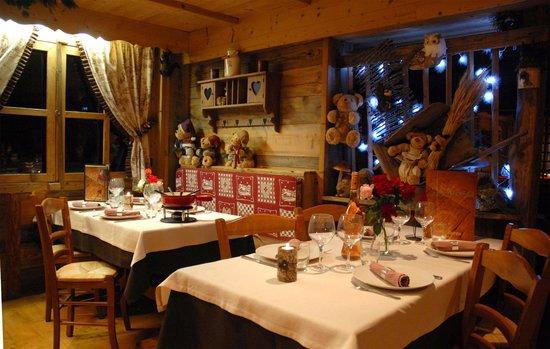 Hotel du Mont-Charvin : le restaurant