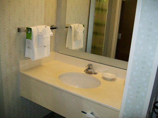 SpringHill Suites Orlando Convention Center/International Drive Area: Sink area outside of the bathroom