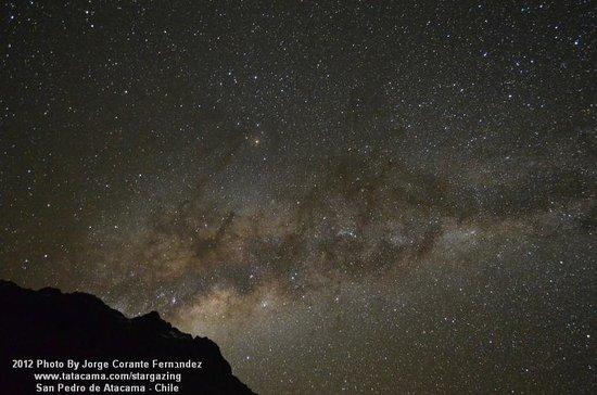 Atacama Desert Stargazing: Milky Way from Salkantay Base Camp june 16th 2012