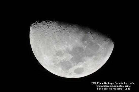 Atacama Desert Stargazing: First Quarter september 13th 2012