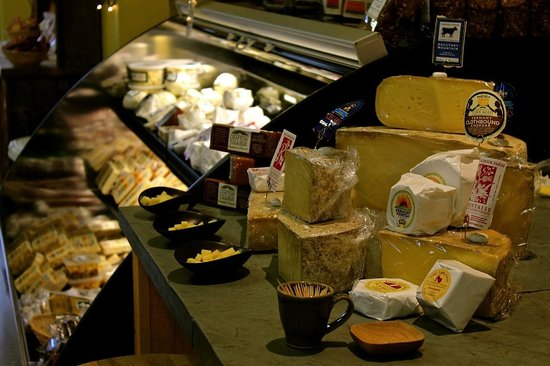 The Cheese Board: The cheese desk
