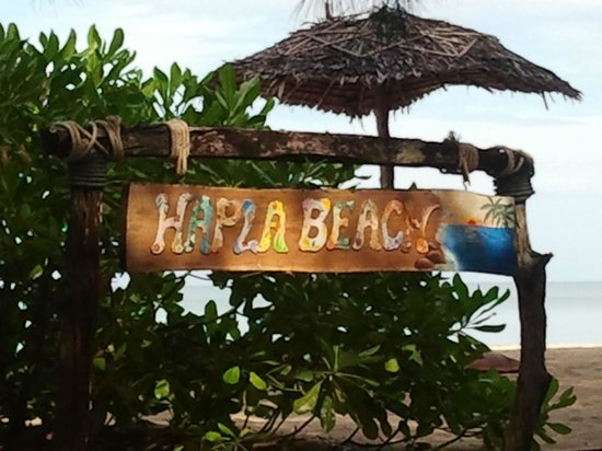 Hapla Beach Cottage: Hapla Beach - the paradise