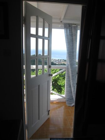 Sisserou Villa, Lodge & Cottage: View from the bedroom