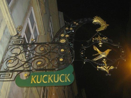 Restaurant Der Kuckuck: Ingresso.