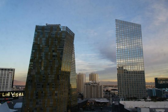 Aria Hotel & Casino: City view room
