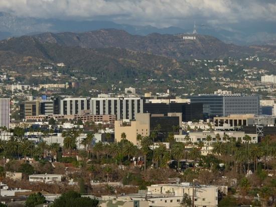 Mr. C Beverly Hills: Blick aus dem Zimmer 914