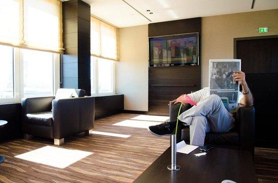 هيلتون فيينا دانوب ووترفرونت: the Executive lounge 
