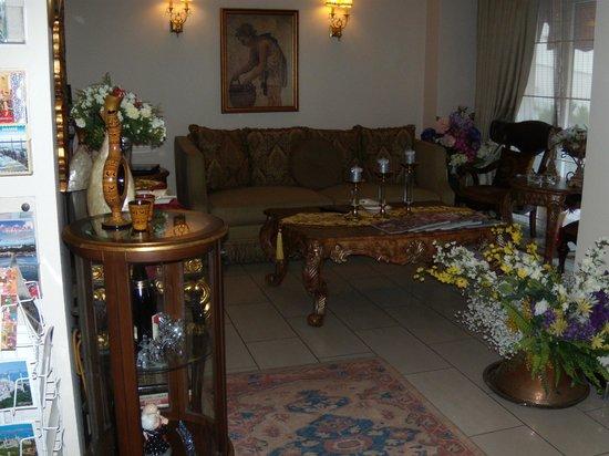 Lobby, Daphne Hotel, Sultanahmet, Istanbul, May 2012