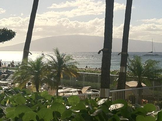 Aston at The Whaler on Kaanapali Beach: The Whaler's view from our patio