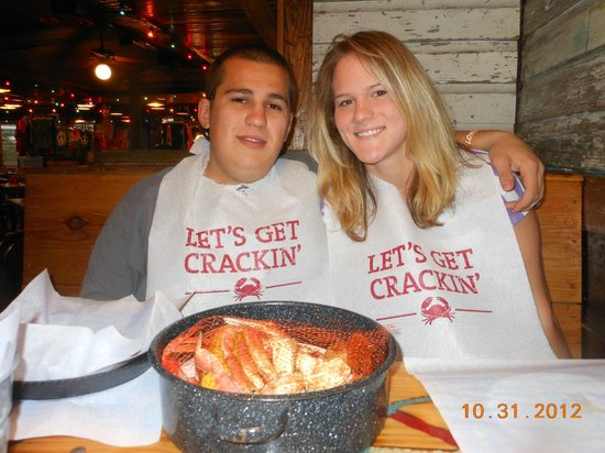 Joes Crab Shack - Expressway: A bucket of crab legs & more, to share.