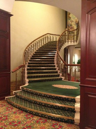 Marriott Chateau Champlain: stairs