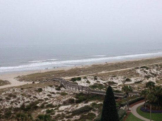 The Ritz-Carlton, Amelia Island: view from our room