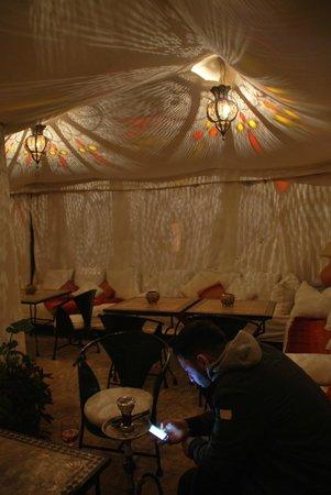 Riad Diana : salon sur terrasse très sympa