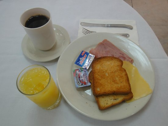 San Marco Hotel and Casino: Continental Breakfast